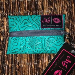 COPY - Turquoise Dream Micro Makeup Junkie Bag
